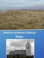 Kirstine Andersen Nistrups slægt - ebog